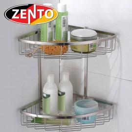 Giá góc 2 tầng inox304 Zento HC1281