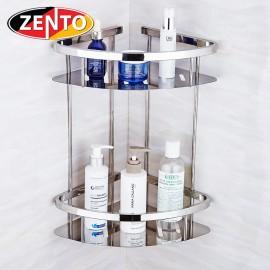 Giá góc 2 tầng inox Zento HA4648-2