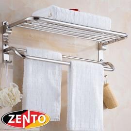 Giá để đồ kết hợp treo khăn inox 304 Zento SV6205-85