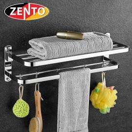 Giá để đồ kết hợp treo khăn inox Zento HA4650