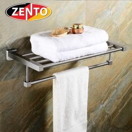 Giá để đồ kết hợp treo khăn inox 304 Zento HC1266