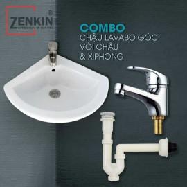 Combo 3 thiết bị vệ sinh Zenkin ZK08