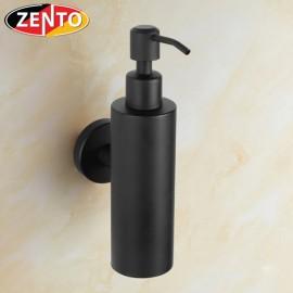 Bình xà phòng nước gắn tường inox304 Black series HC6813