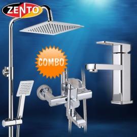 Combo sen cây & vòi lavabo Zento KM106 (new)