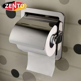 Lô giấy vệ sinh âm tường inox Zento HB1124
