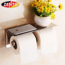 Lô giấy vệ sinh kép inox Zento HB1122