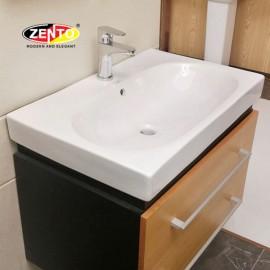 Chậu lavabo đặt bàn Zento LV088 (600x460x165mm)