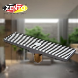 Thoát sàn chống mùi S-line ZT580-30Brushed (83x300mm)