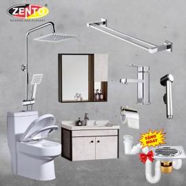 Combo 7 thiết bị vệ sinh Zento BS21