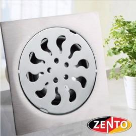 Phễu thoát sàn inox Zento TS151 (15x15cm)