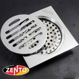 Hố ga thoát sàn chống mùi hôi Zento ZT608 (10x10cm)