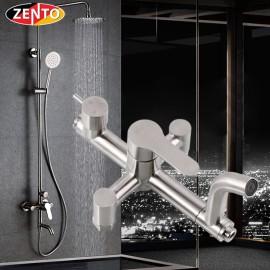 Bộ sen cây tắm nóng lạnh inox Zento SUS8503-1