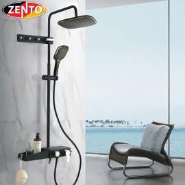 Bộ sen cây nóng lạnh Luxury Shower ZT8022-black