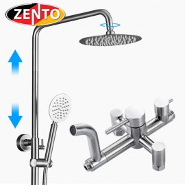 Bộ sen cây tắm nóng lạnh inox Zento SUS8503