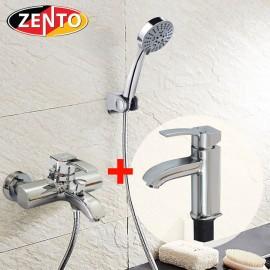 Cặp đôi sen tắm và vòi lavabo Melody series CB029