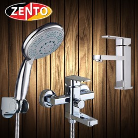 Cặp đôi sen tắm và vòi lavabo Melody series  CB011