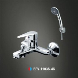 Sen tắm nóng lạnh tay sen Massage INAX BFV-1103S-4C