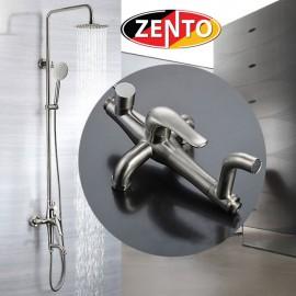 Bộ sen cây tắm nóng lạnh inox Zento SUS8509