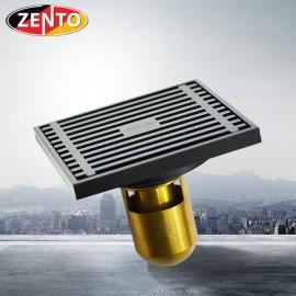 Thoát sàn chống mùi Black series ZT525-B (100x100mm)