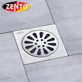 Phễu thoát sàn chống mùi hôi inox Zento TC102-L (10x10cm)