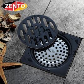 Thoát sàn chống mùi Black series Zento ZT541 (100x100mm)