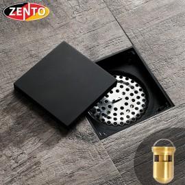 Thoát sàn chống mùi Black series ZT529 (100x100mm)