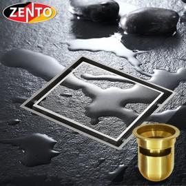 Thoát sàn chống mùi Square Shaped ZT532Brushed-2U (120x120)