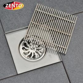 Thoát sàn chống mùi inox304 ZT515-1L  (150x150mm)