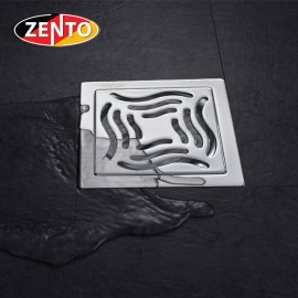 Phễu thoát sàn chống mùi inox Zento TS131-L (100x100)