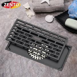 Thoát sàn chống mùi và côn trùng Z-line Zento ZT596-1B (100x200mm)