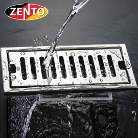 Thoát sàn inox Zento TS202L (100x200mm)