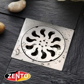 Phễu thoát sàn inox Zento TS200 (20x20cm)