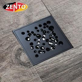 Thoát sàn chống mùi Black series Zento ZT526 (100x100mm)