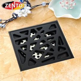 Thoát sàn chống mùi Black series Zento ZT523 (100x100mm)