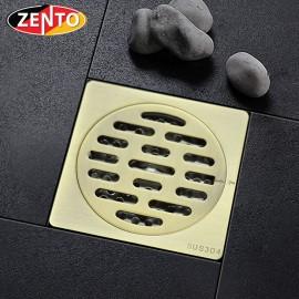 Thoát sàn chống mùi và côn trùng inox Zento ZT542 (100x100mm)