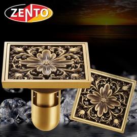 Thoát sàn chống mùi giả cổ 3D Zento ZT659