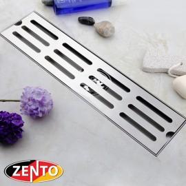 Thoát sàn chống mùi và côn trùng inox 304 ZT552-40 (100x400mm)