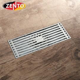 Thoát sàn chống mùi hôi Zento ZT547-Silver (83x200mm)