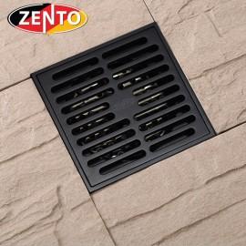 Thoát sàn chống mùi Black series Zento ZT522 (100x100mm)