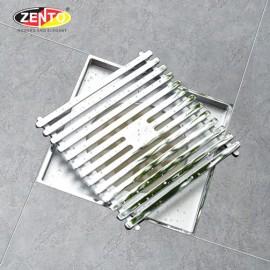 Phễu thoát sàn chống mùi côn trùng ZT5701-C (120x120mm)