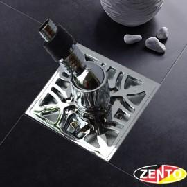 Phễu thoát sàn máy giặt chuyên dụng ZT581 Double (120x120mm)