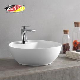 Chậu lavabo đặt bàn Zento LV1090A (420x420x135mm)