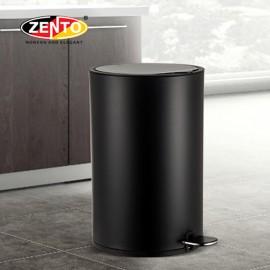 Thùng rác inox đạp chân nắp êm HC1240-Black