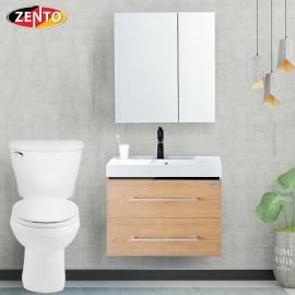Bộ tủ, chậu, tủ gương Lavabo ZT-LV968