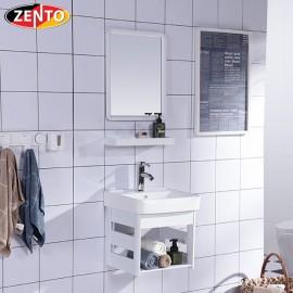 Bộ tủ, chậu, kệ gương Lavabo ZT-LV948 (Aluminum)