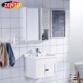 Bộ tủ, chậu, kệ gương Lavabo ZT-LV931 (Aluminum)