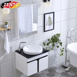 Bộ tủ, chậu, bàn đá, kệ gương Lavabo ZT-LV891