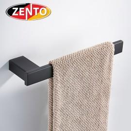 Thanh treo khăn đơn inox304 Black series Zento HC6806