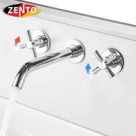Vòi lavabo nóng lạnh âm tường ZT2662