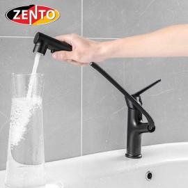 Vòi lavabo nóng lạnh Pulldown Spray ZT2130-B (Dây rút)